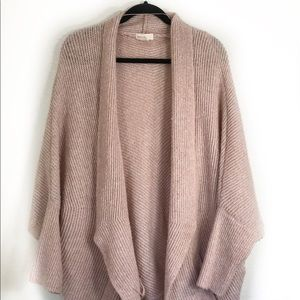 Anthropologie sleeping on snow cocoon cardigan